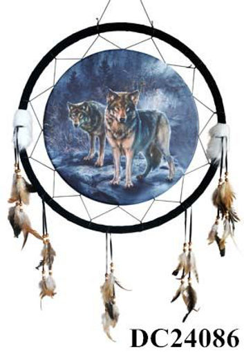 Picture of Dream Catcher 24in Wolves - No DC24086