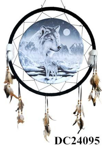 Picture of Dream Catcher 24in Wolves - No DC24095