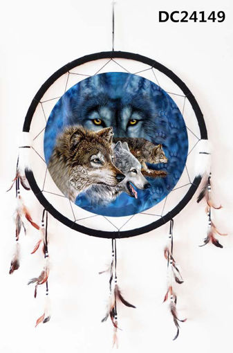 Picture of Dream Catcher 24in, Wolves - No DC24149