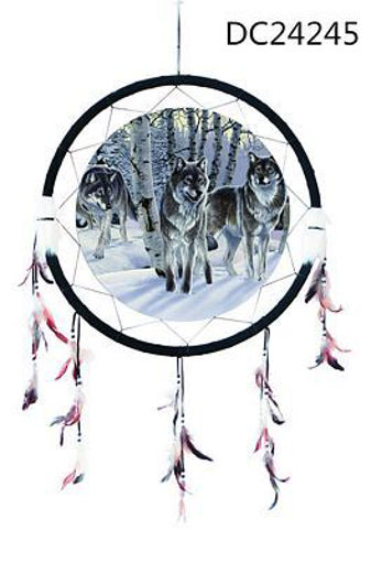 Picture of Dream Catcher 24in, Wolves - No DC24245