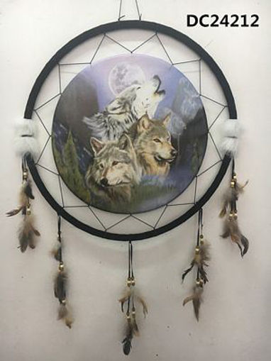 Picture of Dream Catcher 24in, Wolves - No DC24212