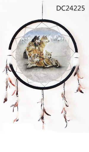 Picture of Dream Catcher 24in, Wolves - No DC24225