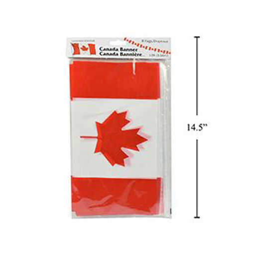 Picture of Canada Flag Banner 12Ft - No 62207