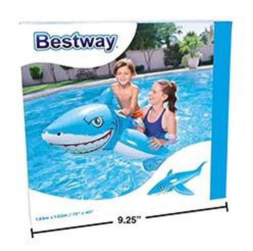 Picture of Ride-On White Shark 72X40In - No 17048