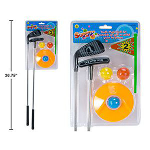 Picture of Golf Set Youth Metal - No 15283