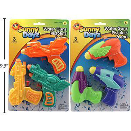 Picture of Watergun 3Pk - No 15524