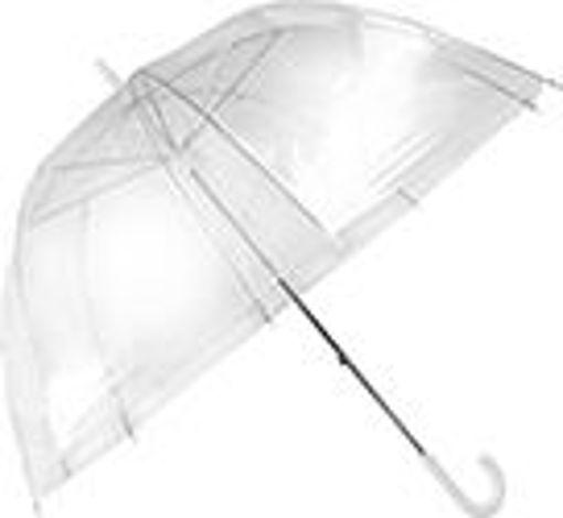 Picture of Umbrella Dome Shape 25in Clear - No 076853