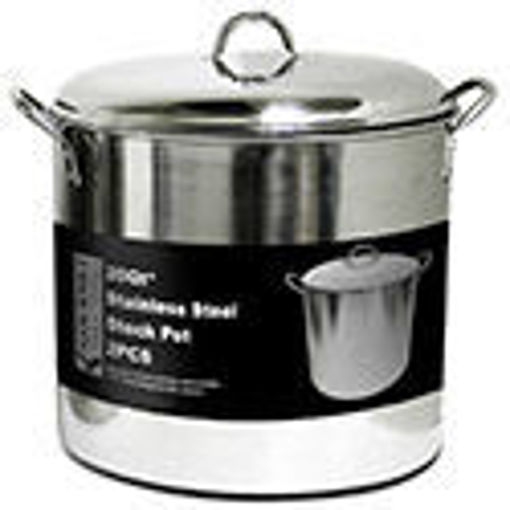 Picture of Stock Pot 20Qt Ss Dome Lid - No 077904
