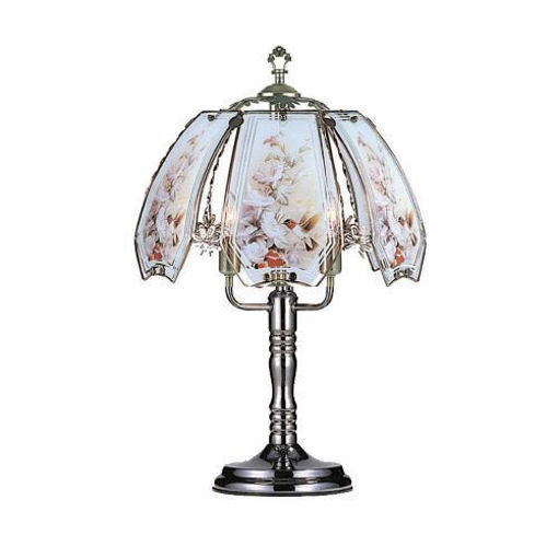 Picture of Touch Lamp 24in, Flowers - No OK-632-HC5-SP1