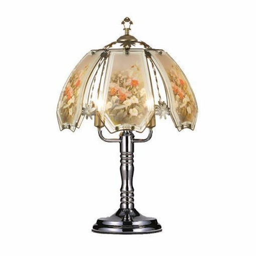 Picture of Touch Lamp 24in, Flowers - No OK-632-HC9-SP1