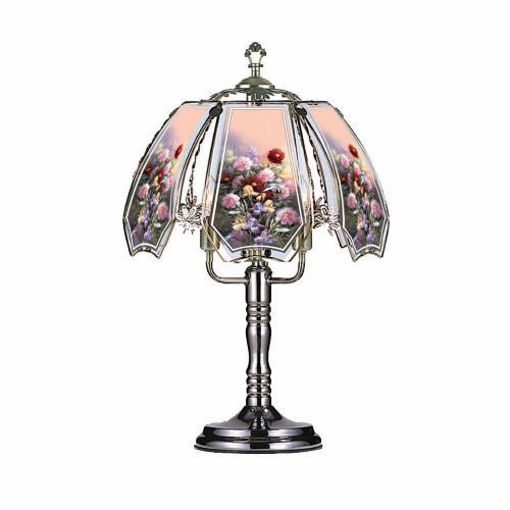 Picture of Touch Lamp 24in, Flowers - No OK-632-W12-SP1