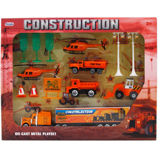 Picture of Construction Play Set 14Pcs - No ARY6933
