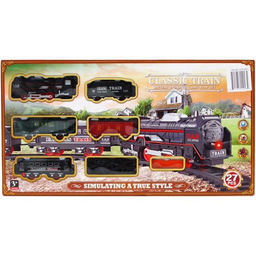 Picture of Train Bo 27Pcs Sound,Light - No ARY3307