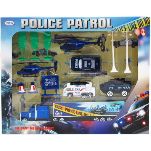 Picture of Police Play Set 14Pcs - No ARY6931