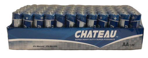 Picture of Battery Chateau Aa 48Pk - No AA-48