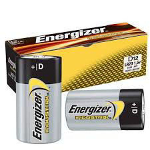 Picture of Battery D Ind. Alk Energ. Each - No EN95