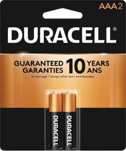 Picture of Battery Duracell A A A 2Pk - No 00041333151618