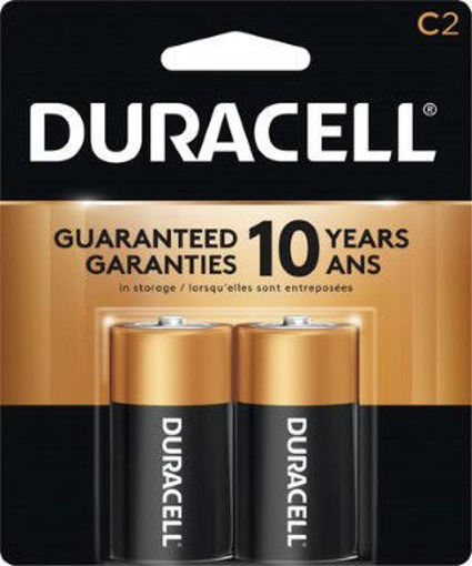 Picture of Battery Duracell C-2pk - No 00041333086613