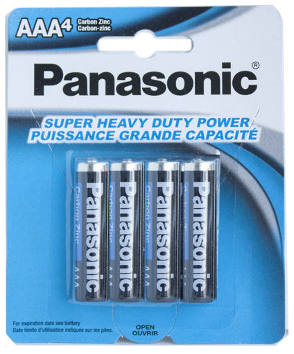 Picture of Batteries Panasonic A A 4Pk - No 30073096500236