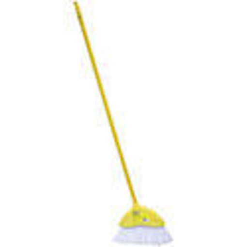 Picture of Broom Angle With Handle Yellow - No 076067