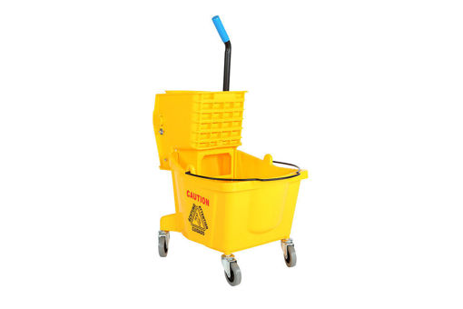Picture of Bucket Sidepress 26Qt Yellow - No GCP-3081