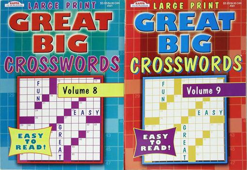 Picture of Book Crosswords Great Big - No 391