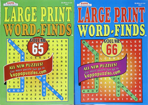 Picture of Puzzle Large Print Word Find - No 842