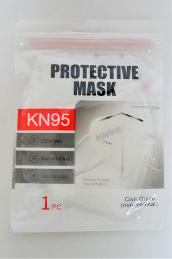Picture of KN95 Protective Face Mask Single Packaging - No 06976