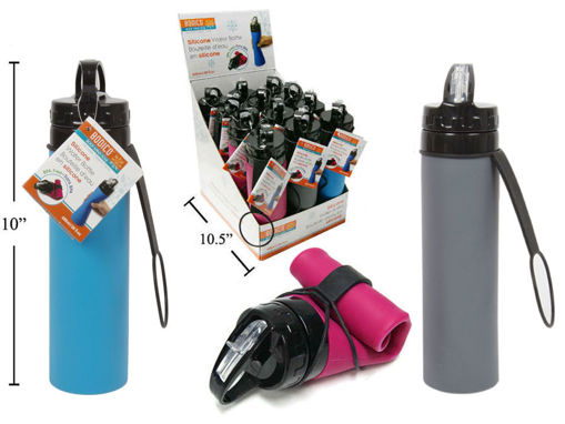 Picture of Bodico Fit, 560Ml Silicone Water Bottle - No 84220
