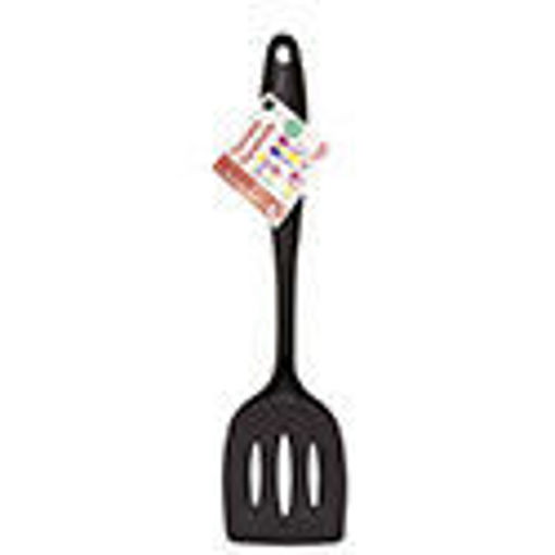 Picture of Spatula Slotted Nylon 14in Black - No 078124