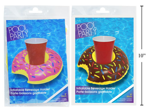 Picture of Inflatable Cup Holder 7In Donut - No 17307