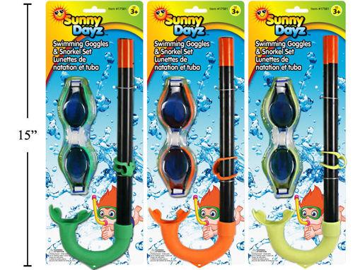 Picture of Snorkel Set 3 Color - No 17581