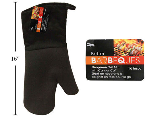 Picture of Bbq Grill Mitt 16In Neoprene - No 81216
