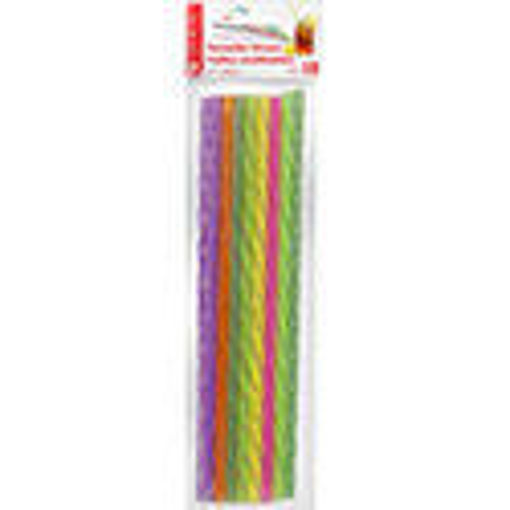 Picture of Straw Reusable 11in 18P - No 078250