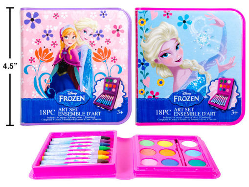 Picture of Disney Frozen, 18-Pc Art Set, 2 Styles - No 43107