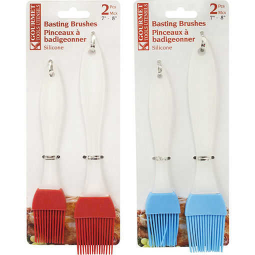 Picture of Brush Set 2Pcs Silicone - No 078011