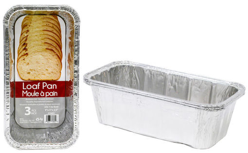 Picture of Foil Loaf Pan 3Pk 9X5X2.5 - No 074651
