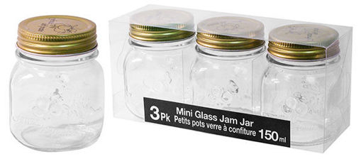 Picture of Jar Jam 150Ml 3Pk - No 076718