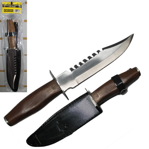 Picture of Knife Hunting 11In Wood Handle - No TH-122-11