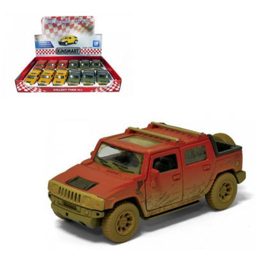 Picture of Kinsmart 1:40 Hummer H2 Mud - No 70496TYC