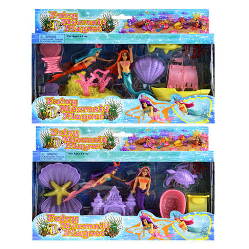 Picture of Mermaid Play Set - No 91216
