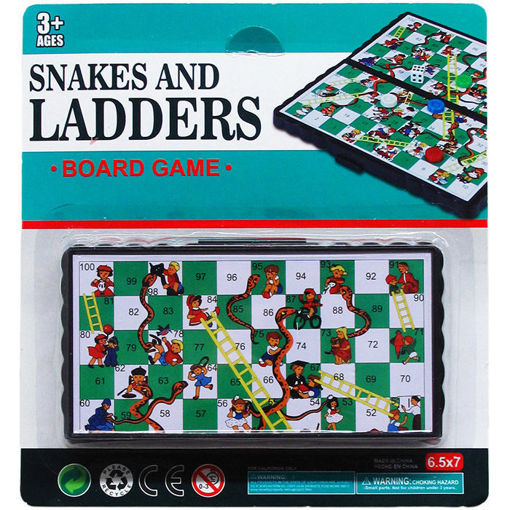 Picture of Game Snake & Ladders 5.25in - No NM11041