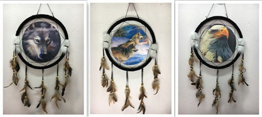 Picture of Dream Catcher 15in 3D Wolf - No DCD15218K
