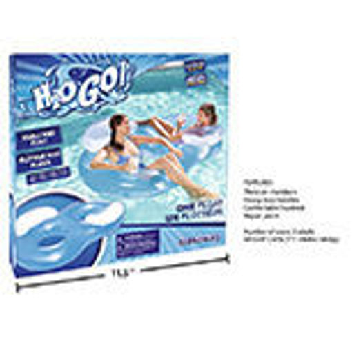 Picture of Inflatable Double Ring 74X46 - No 17063