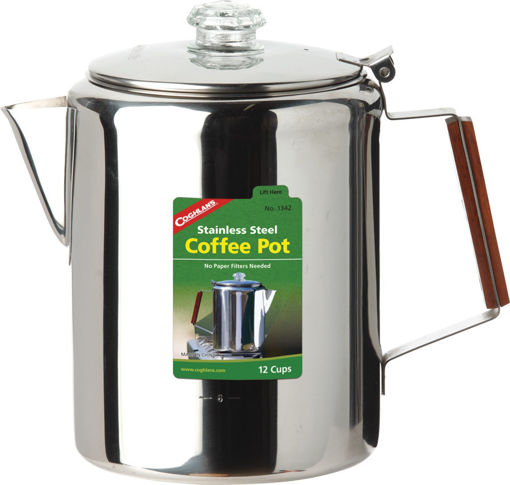 Picture of Coffee Pot 12 Cup Ss - No 1342