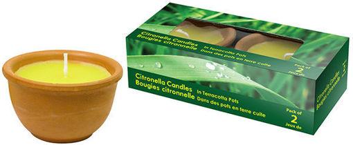 Picture of Citronella Terracotta Candle - No 077964