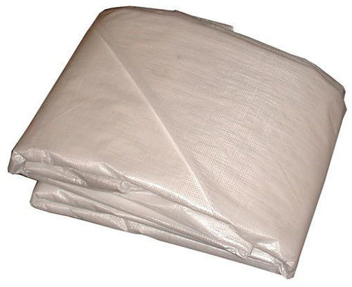 Picture of Tarp Poly Constr. 16X32 White - No T004099