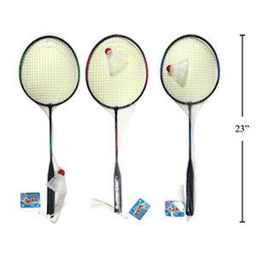 Picture of Badminton Racket With Birdie - No 15853