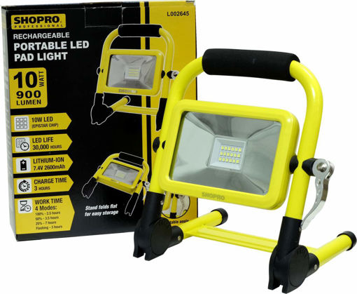 Picture of Light Led 10W Rechargable - No L002645