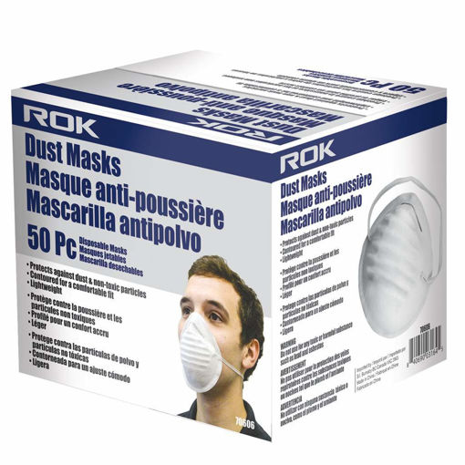 Picture of Dust Mask 50Pcs - No 70606